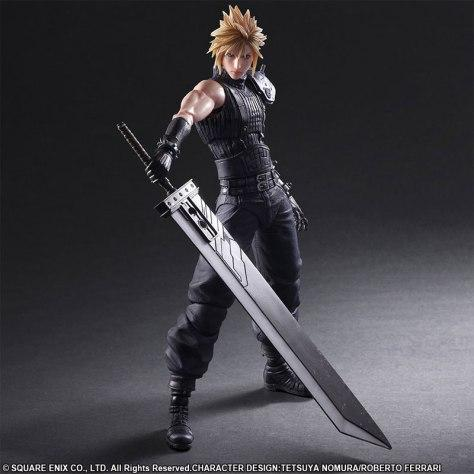 Play Arts Kai Cloud Final Fantasy VII Remake