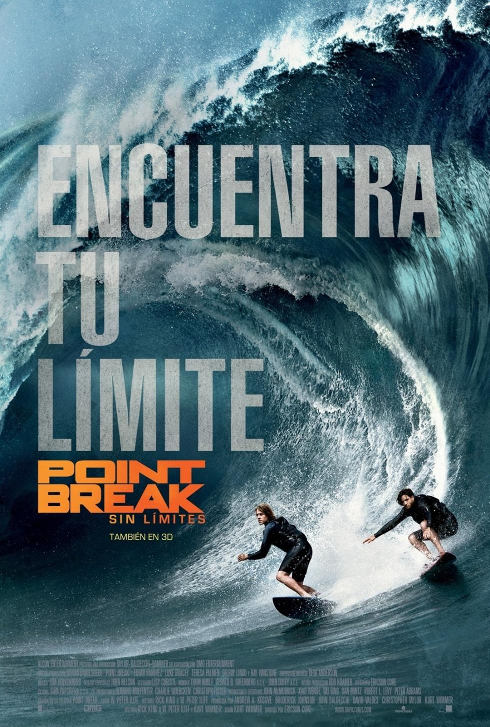 Point break: Sin límites