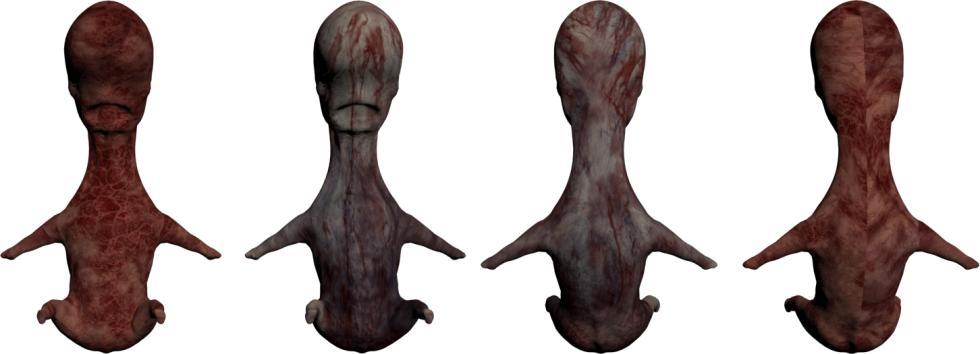 P.T. Silent Hills - Modelo del personaje del bebé deforme