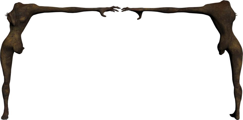 P.T. Silent Hills - Modelo del personaje de enemigo no utilizado