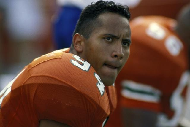The Rock en la NCAA
