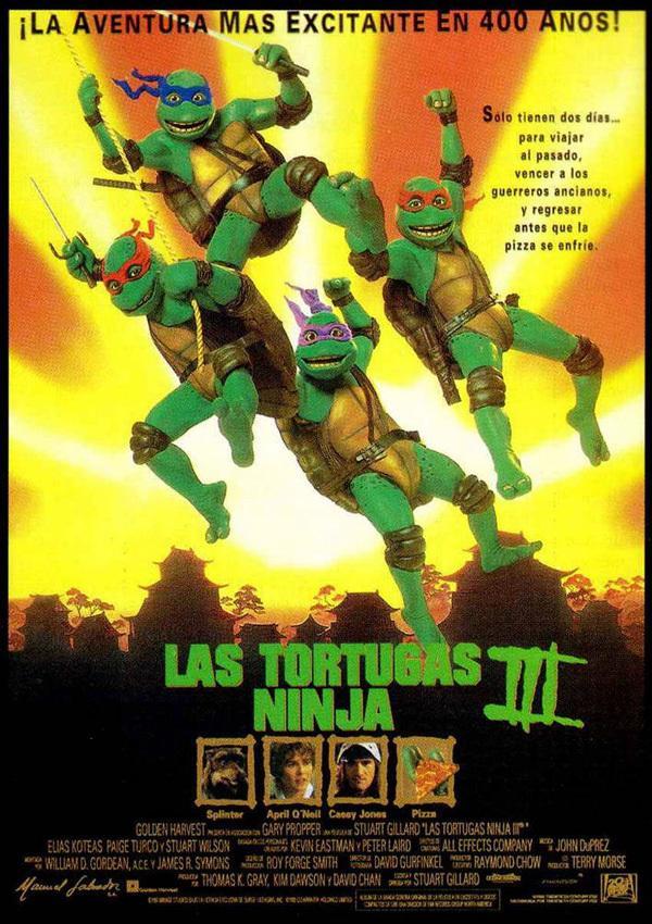 Las tortugas ninja III