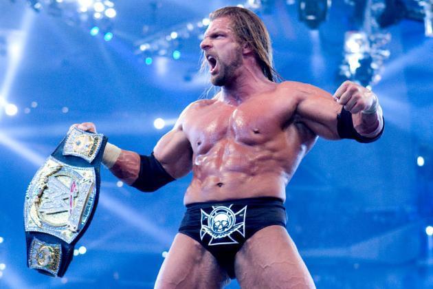 Triple H como Campeón de la WWE