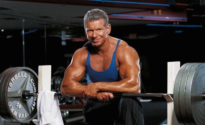 Vince McMahon durante su etapa en la WWE