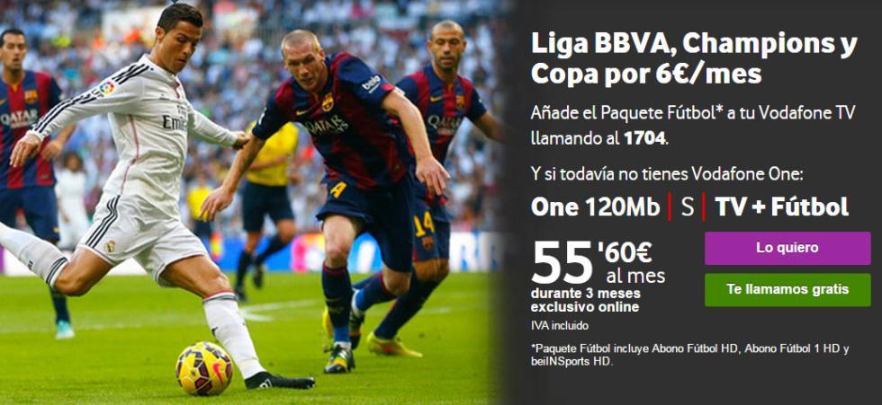 Tarifas, fútbol, La Liga