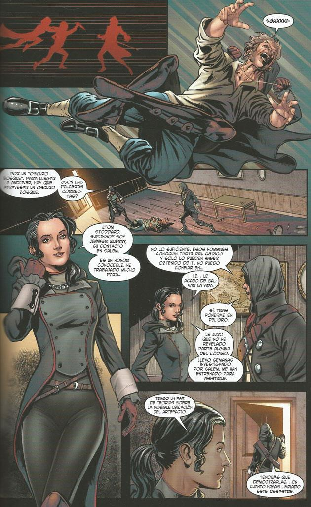 Cómic de Assassin's Creed en Salem