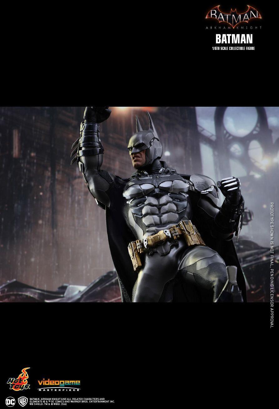 La nueva figura de Batman creada por Hot Toys esta basada en Batman Arkham Knight