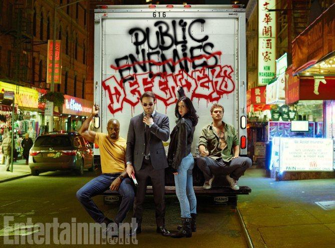 The Defenders - Primeras imágenes oficiales