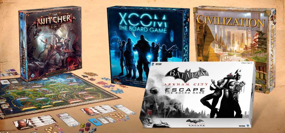 Especial Reyes: Los mejores juegos de mesa basados en videojuegos