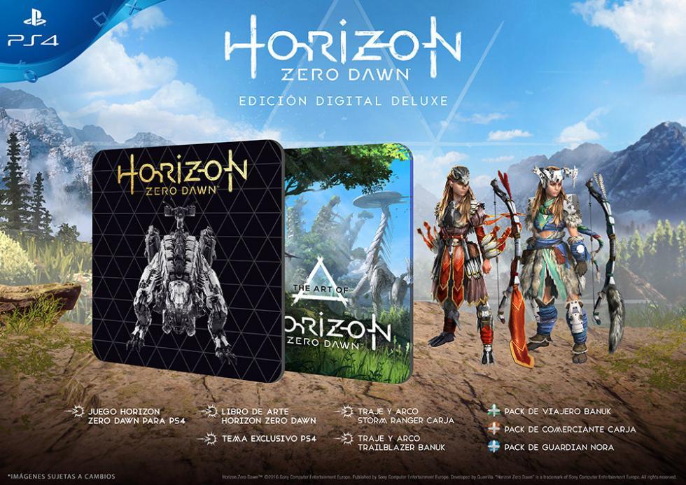 Horizon Zero Dawn Edición Digital Deluxe