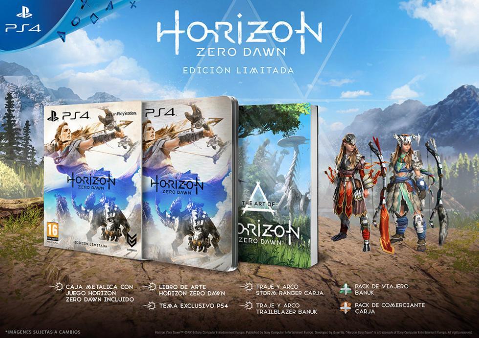 Horizon Zero Dawn Edición Limitada