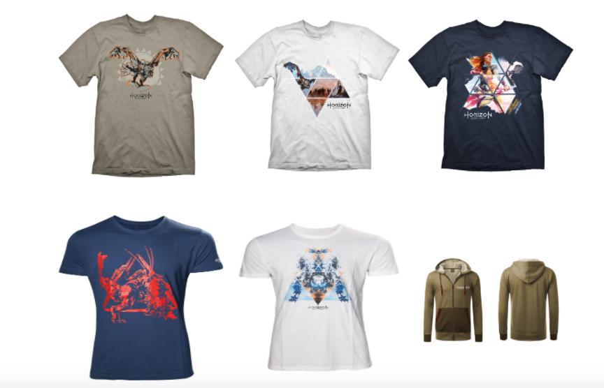 Horizon Zero Dawn merchandising