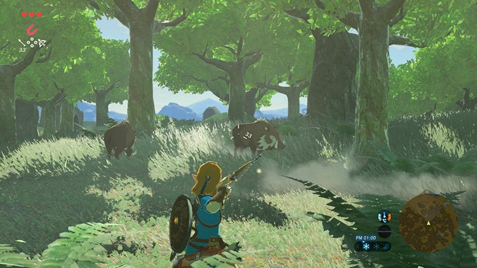 The Legend of Zelda: Breath of the Wild - Nuevas imágenes