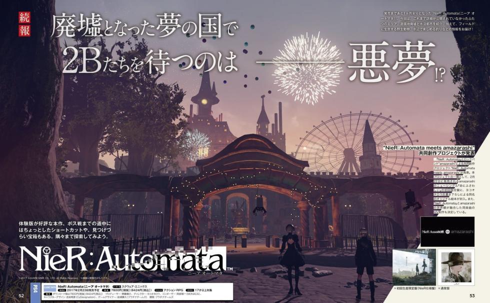 NieR: Automata - Nuevas imágenes