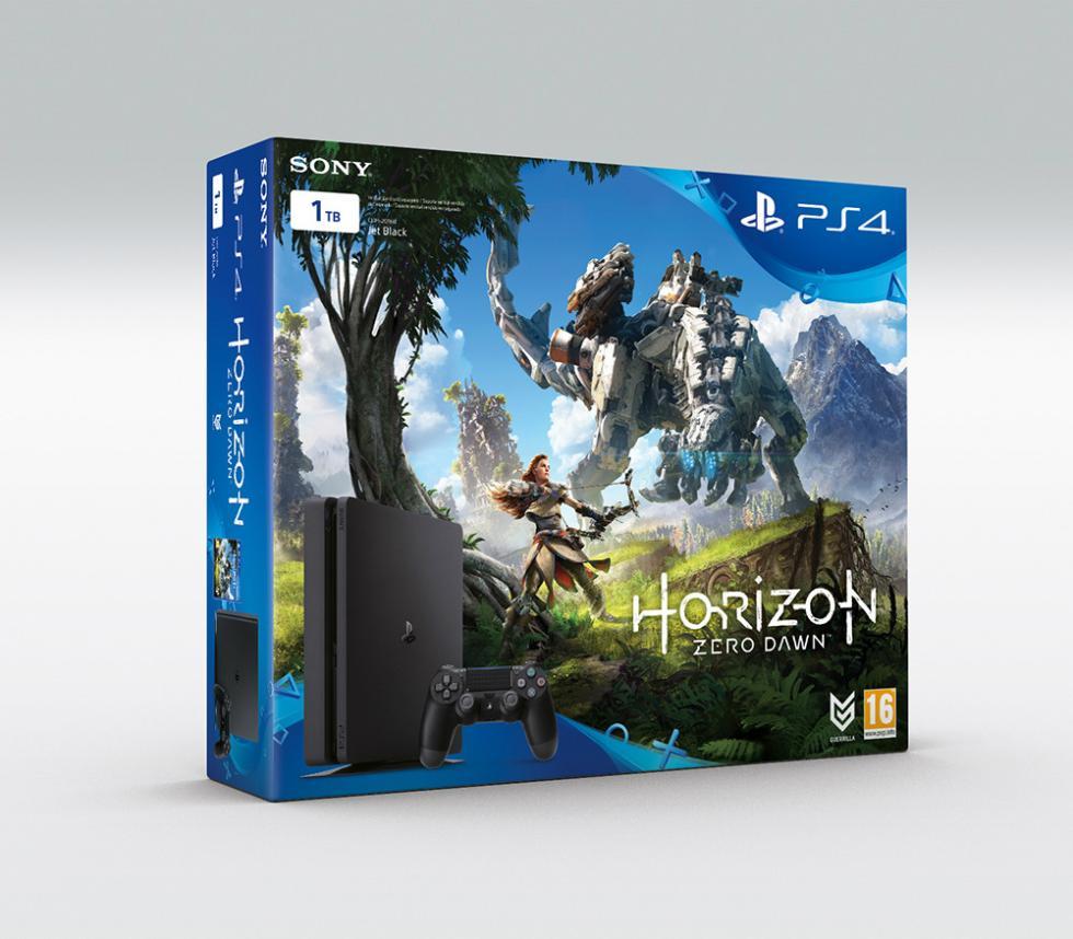 Pack PS4 + Horizon Zero Dawn