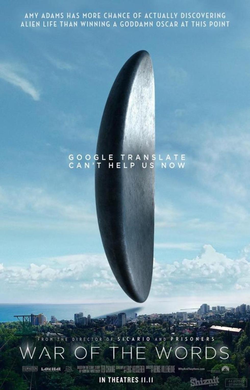 Pósters honestos de la nominadas al Oscar 2017 a Mejor Película