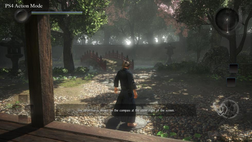 PS4 Modo acción Dualshockers Nioh captura