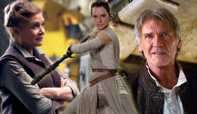 Han y Leia son los padres de Rey
