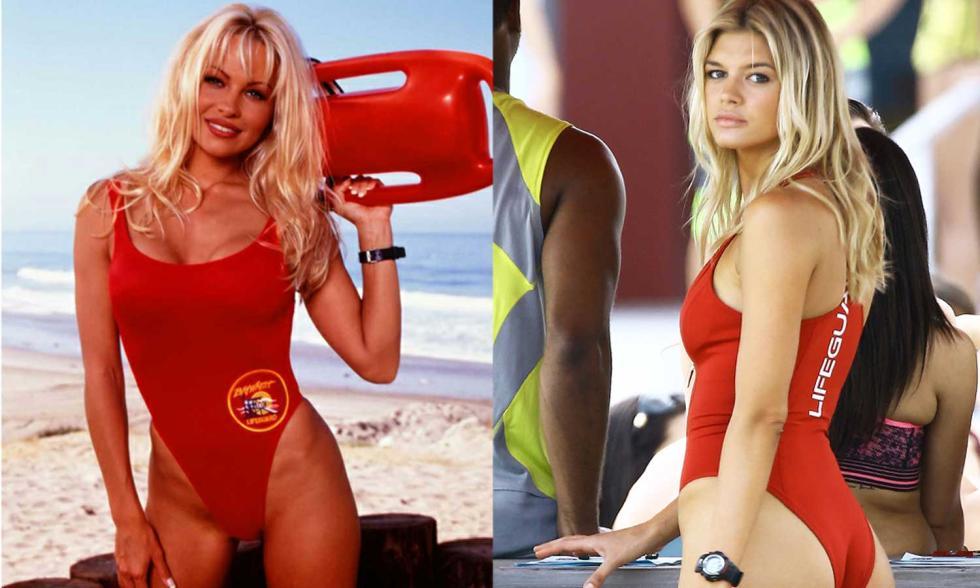 Los vigilantes de la playa - Comparamos el reparto original y el nuevo