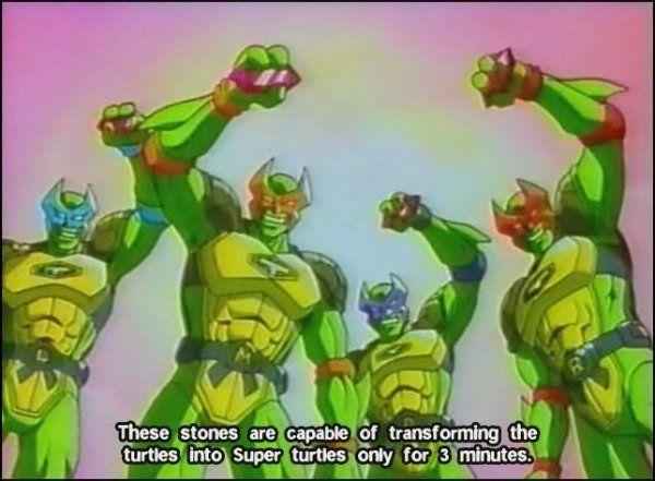 Tortugas Ninja - las series de televisión