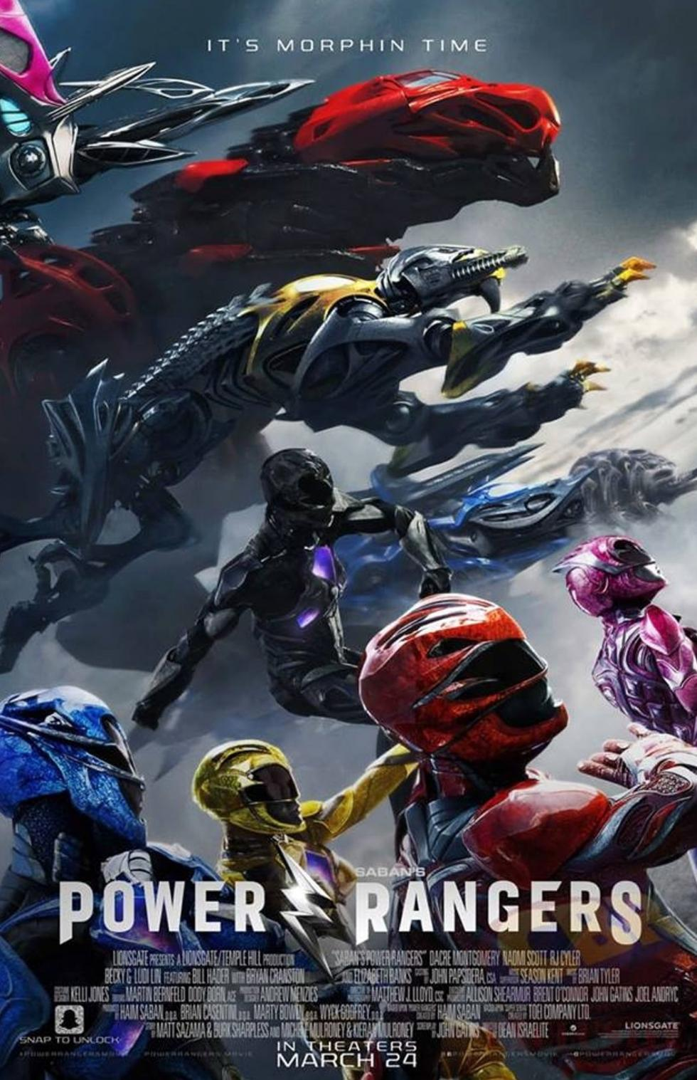 Carteles Power Rangers