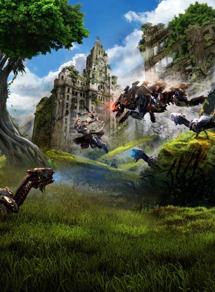 Horizon Zero Dawn imágenes promocionales