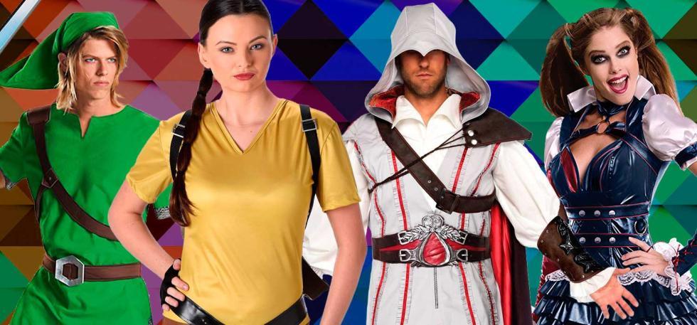 Mejores disfraces de carnaval basados en personajes de videojuego