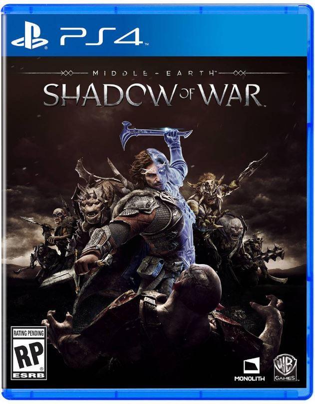 Middle Earth: Shadow of War - Carátula PS4
