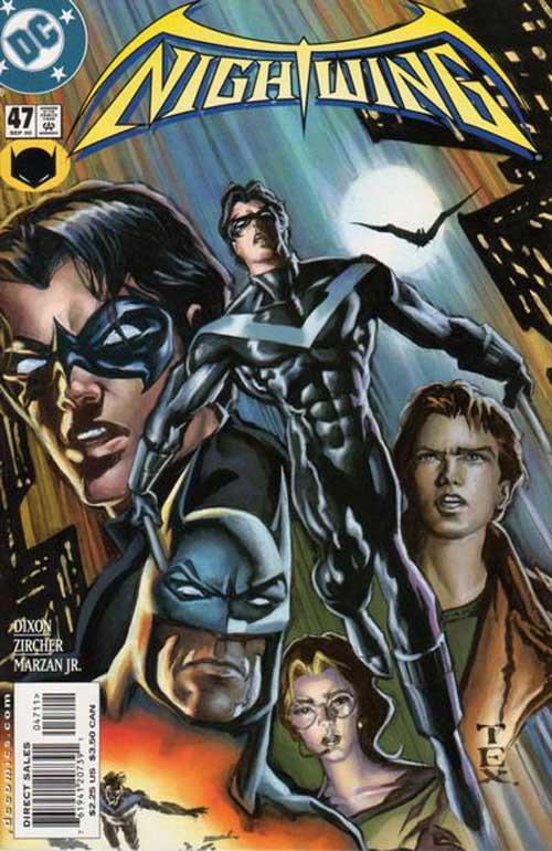 Nightwing a lo largo de los años