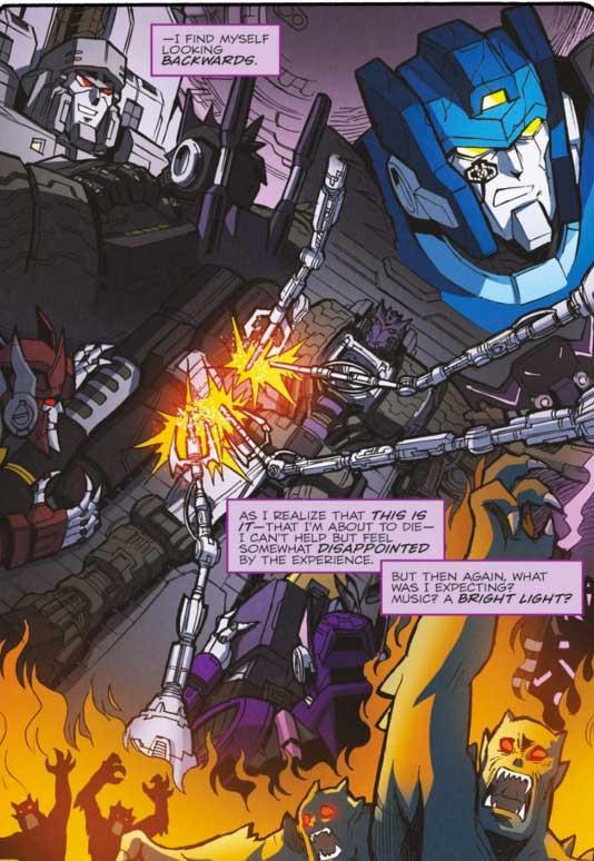 Transformers: El Amanecer de los Autobots - Review del vol. 4 de MTMTE