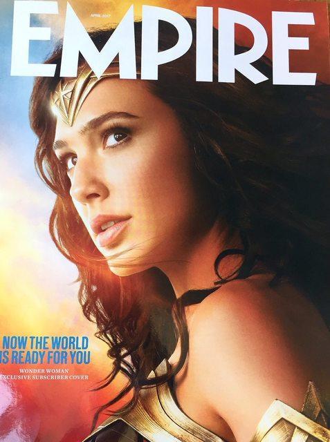 Wonder Woman - Reportaje en la revista Empire