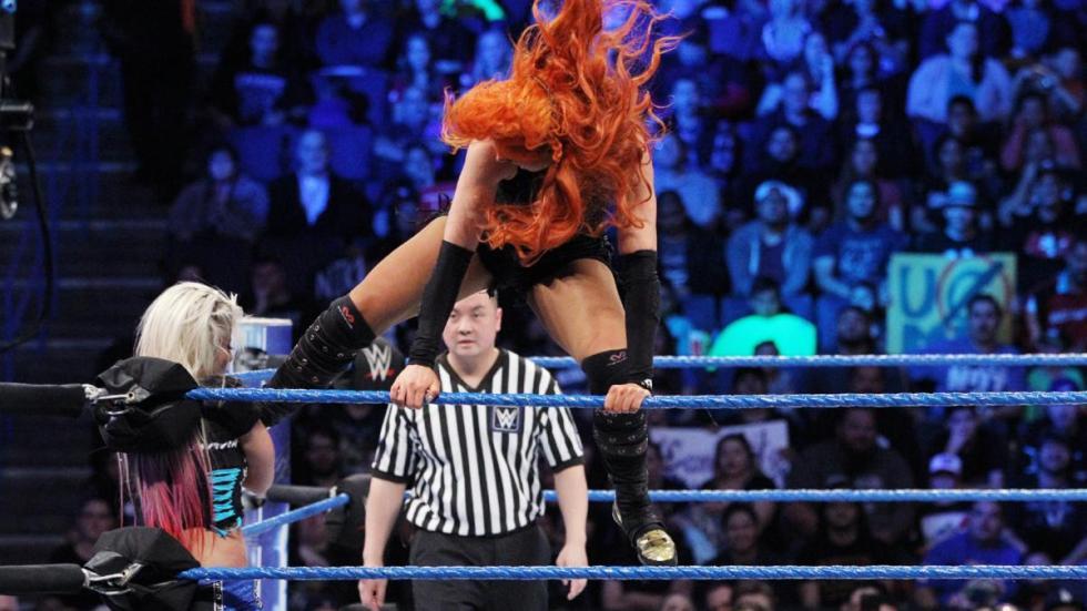 WWE - Alexa Bliss recupera el Campeonato Femenino de SmackDown