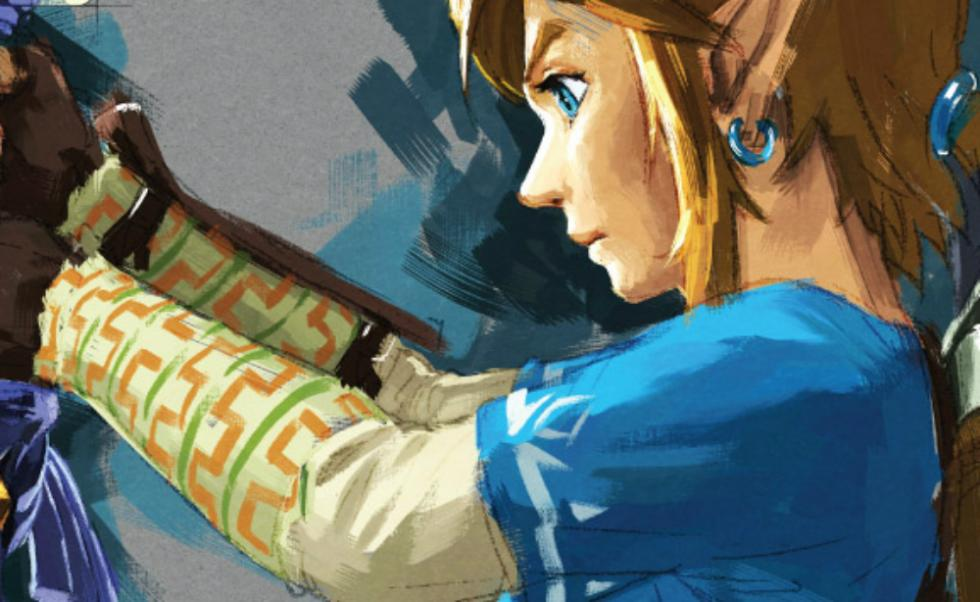 Zelda Breath of the Wild - Portada en Gameinformer