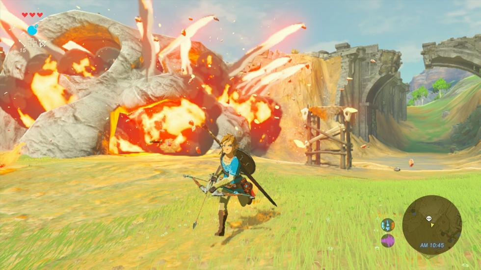 1. ZELDA: BREATH OF THE WILD