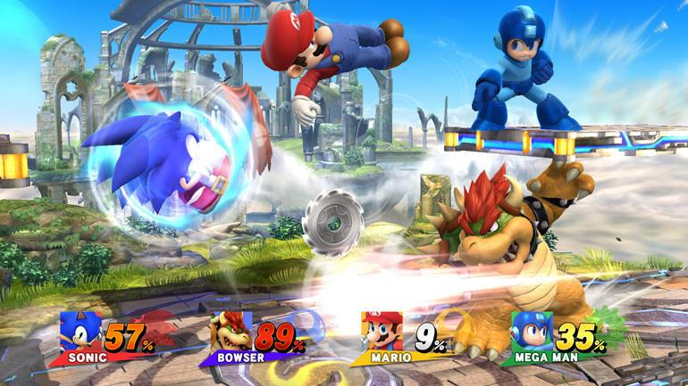 2. SUPER SMASH BROS FOR WII U
