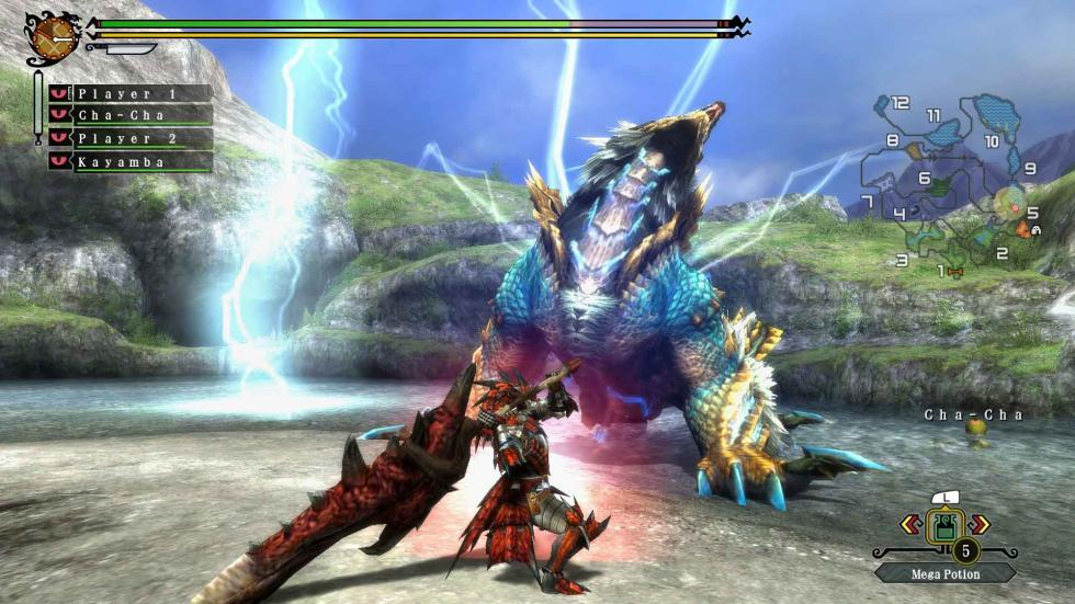 7. MONSTER HUNTER 3 ULTIMATE