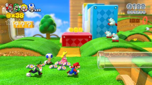 8. SUPER MARIO 3D WORLD