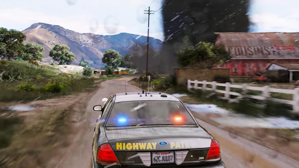 Así se ve GTA V en resolución 4K