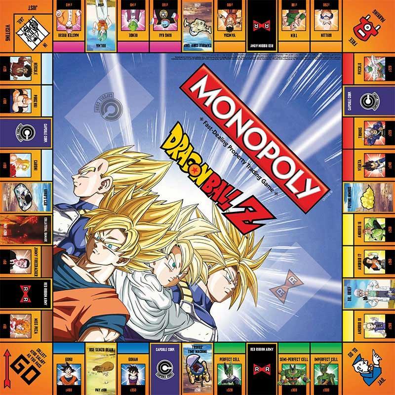 Dragon Ball Z Monopoly