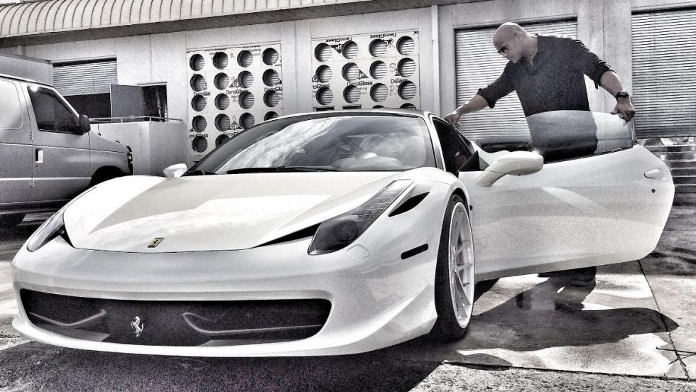Ferrari 458 Dwayne Johnson