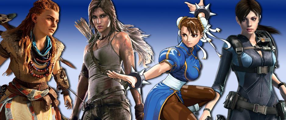 Las heroínas de videojuegos mas relevantes según Sony