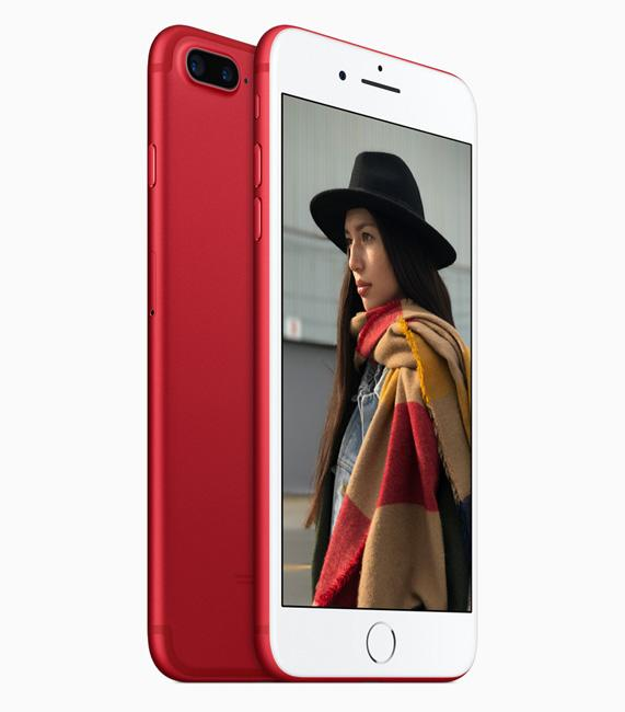 iPhoene 7 y 7 Plus RED Special Edition