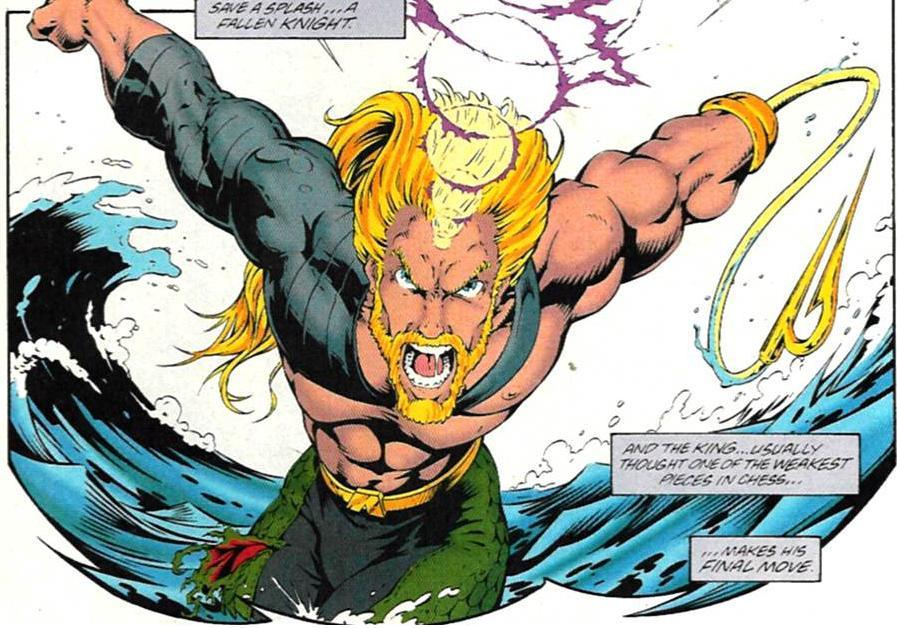 Justice League - ¿Quién es Aquaman?
