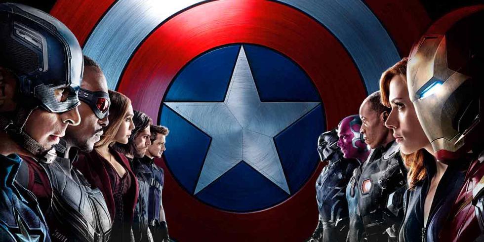 Mejores películas de 2016 - Capitán América: Civil War