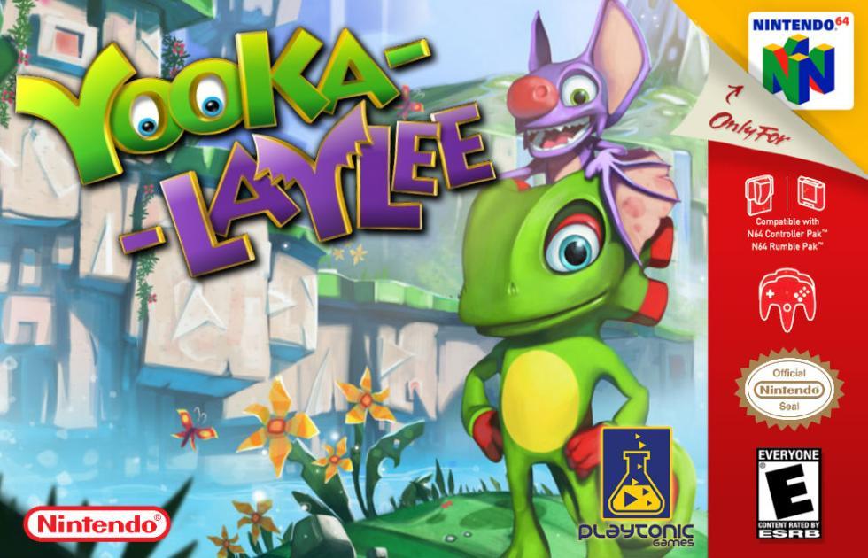 Yooka Laylee Nintendo 64