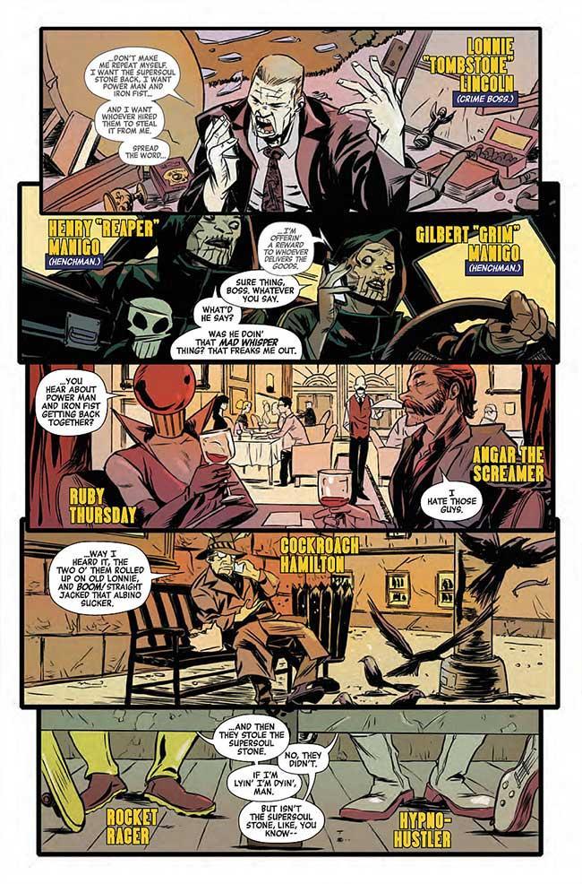 Power Man y Puño de Hierro - Review del regreso de Luke Cage y Iron Fist