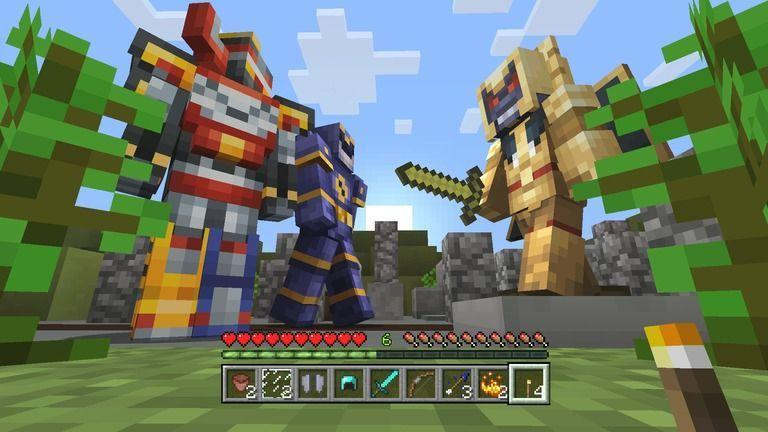 Power Rangers en Minecraft