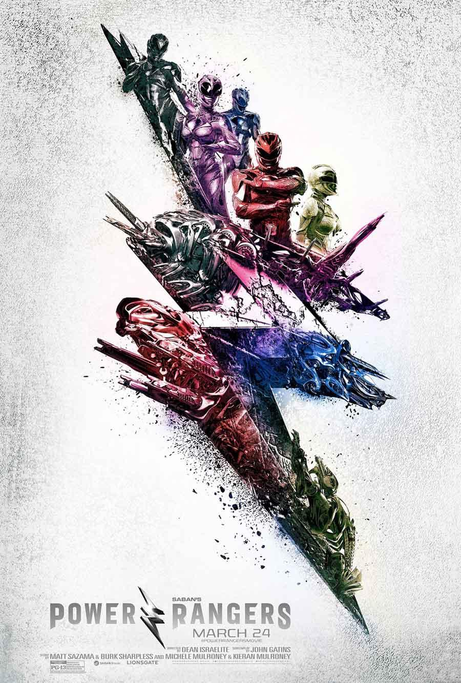 Power Rangers - poster