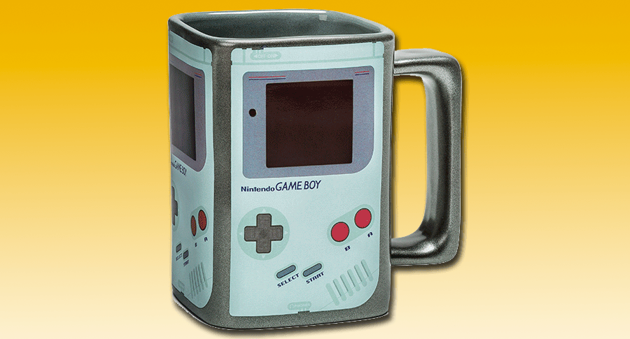Taza Game Boy
