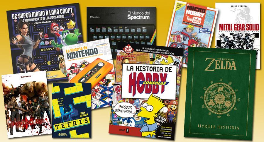 Libros de videojuegos retro